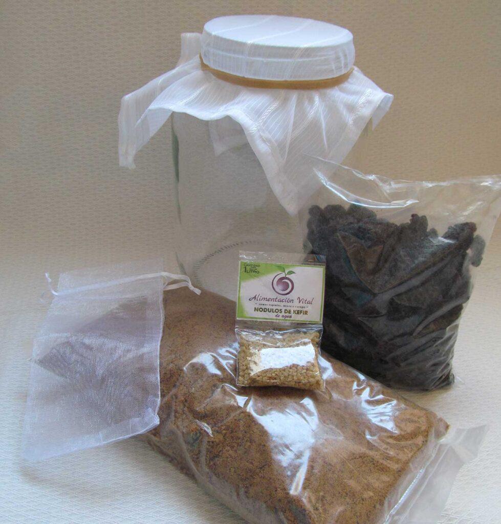 kefir d agua kit completo